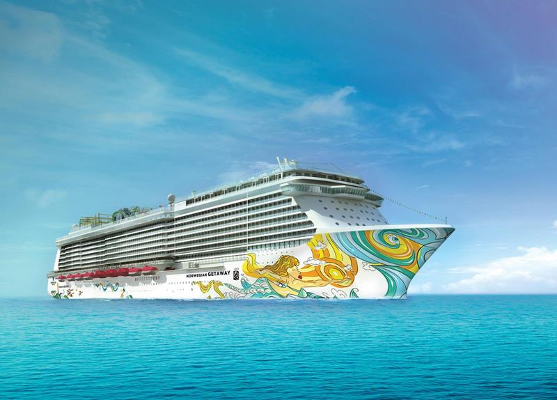 30 Pictures of Norwegian Getaway - 02