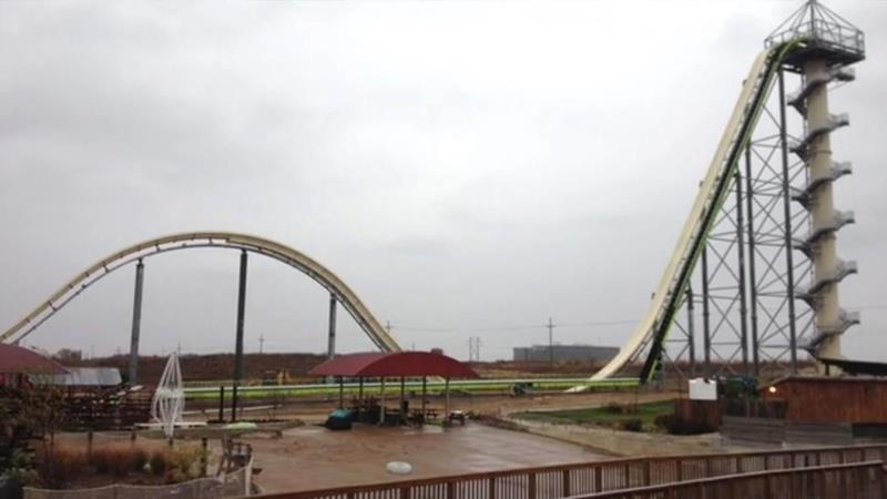 biggest waterslide in the world