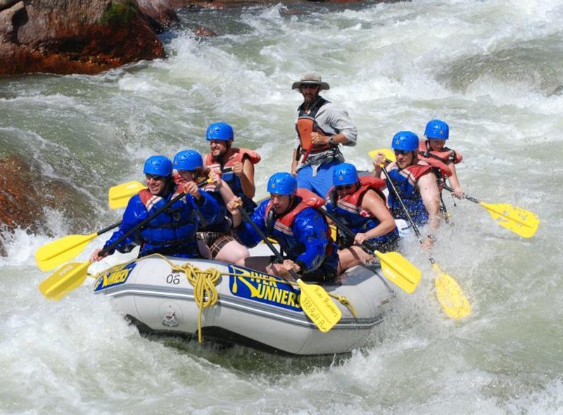 best white water rafting in US