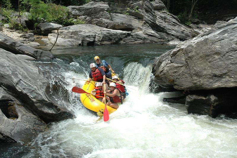 best white water rafting