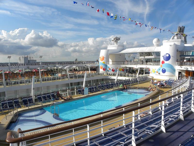 Will The Biggest Cruise Ship Ever Built Change Cruising Forever - Cruise ship pool table