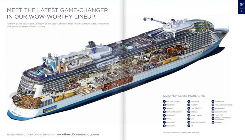 21 Pictures of the Upcoming Royal Caribbean Ship Anthem of the Seas-2
