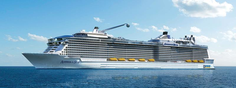 21 Pictures of the Upcoming Royal Caribbean Ship Anthem of the Seas-title