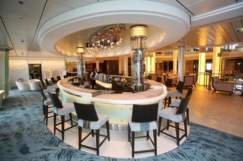 Celebrity Eclipse interior photos.The Martini Bar