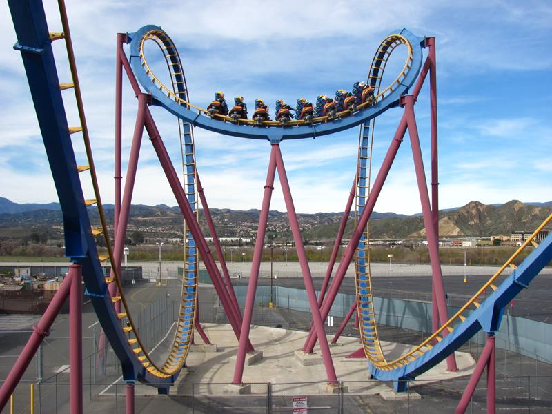 35 Pictures from Six Flags Magic Mountain-31