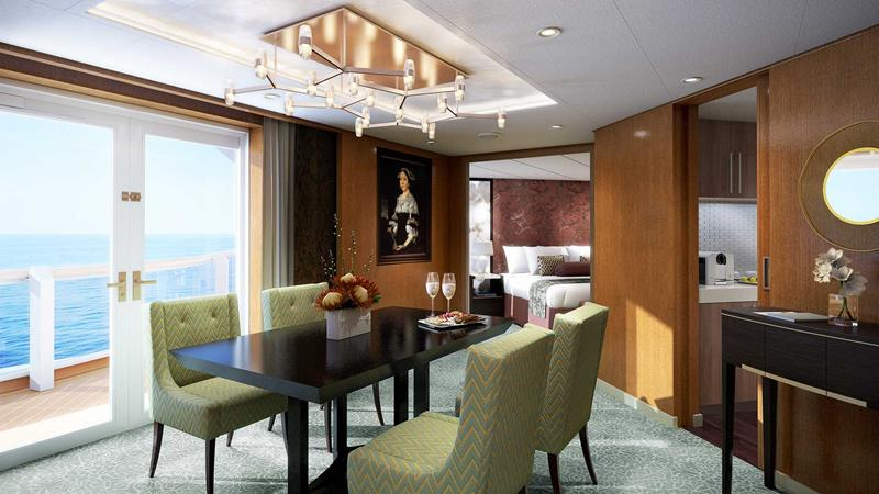 The 10 Best Luxury Cruise Ship Staterooms-1a