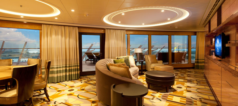 The 10 Best Luxury Cruise Ship Staterooms-3a