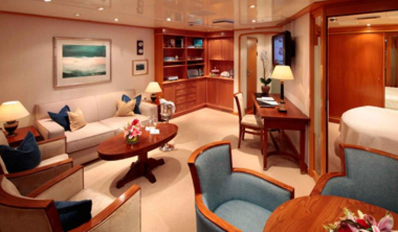 The 10 Best Luxury Cruise Ship Staterooms-4a