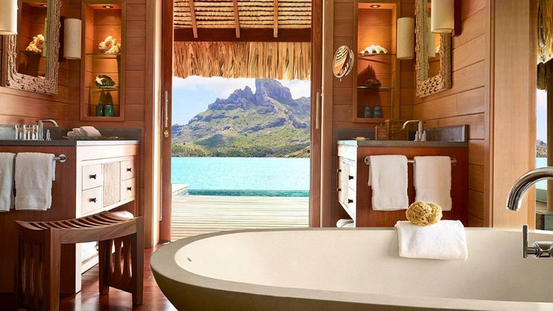 22 Pictures of the Best Overwater Bungalows Resort in Bora Bora-7