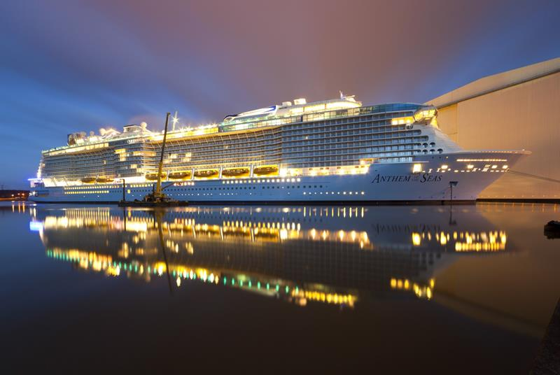 25 Pictures of Royal Caribbeans Newest Ship Anthem of the Seas-1