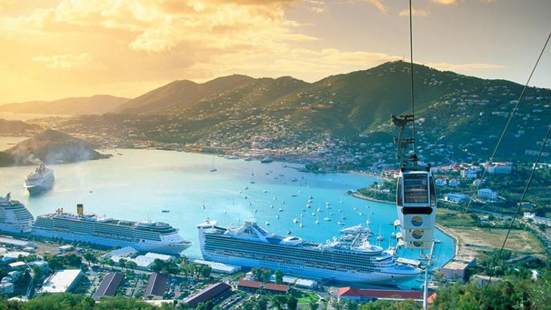 24 Amazing Photos of the Popular Cruise Port St Thomas-14