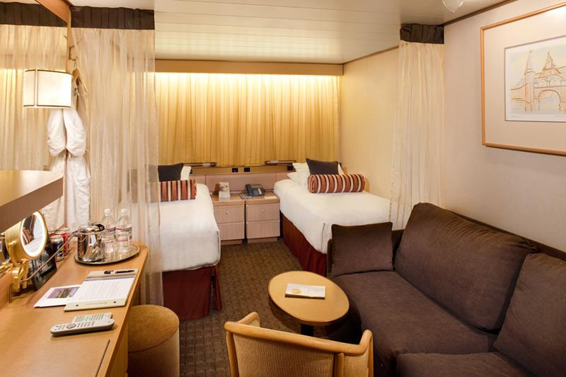 9 Awesome Cruise Ship Inside Cabins-3b