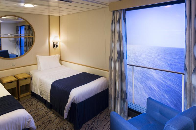 9 Awesome Cruise Ship Inside Cabins-7b
