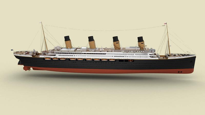 An Advanced Look at the Astonishing Titanic II-2