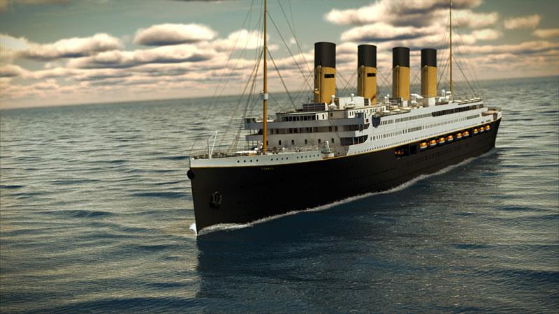 An Advanced Look at the Astonishing Titanic II-title