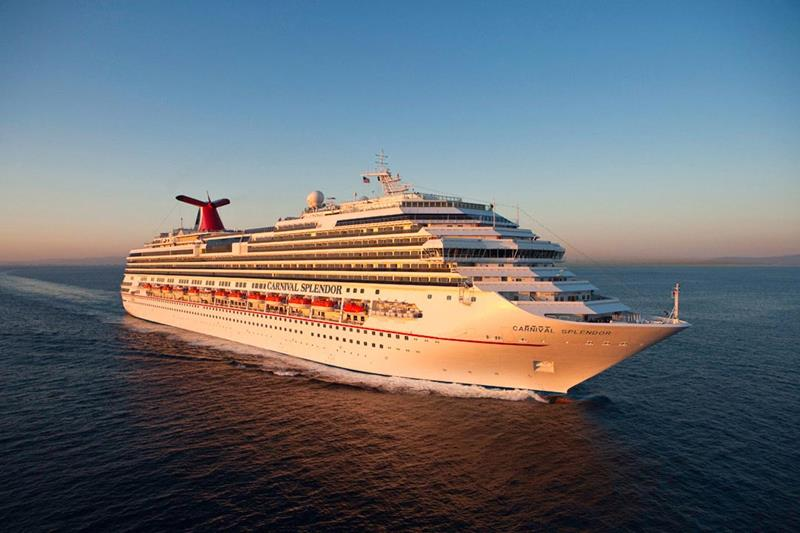 21 Pictures of the Beautiful Carnival Splendor Cruise Ship-21