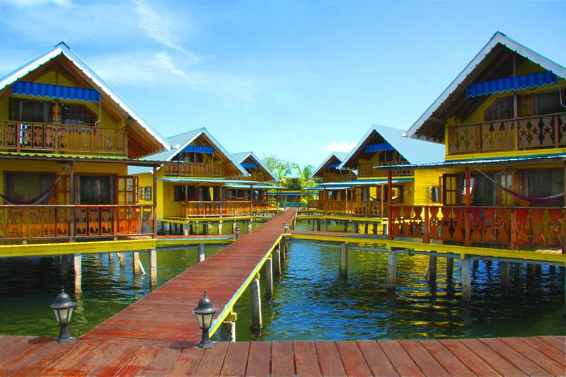 9 Pictures of New Overwater Bungalows in the Caribbean-9