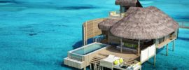 9 Pictures of New Overwater Bungalows in the Caribbean