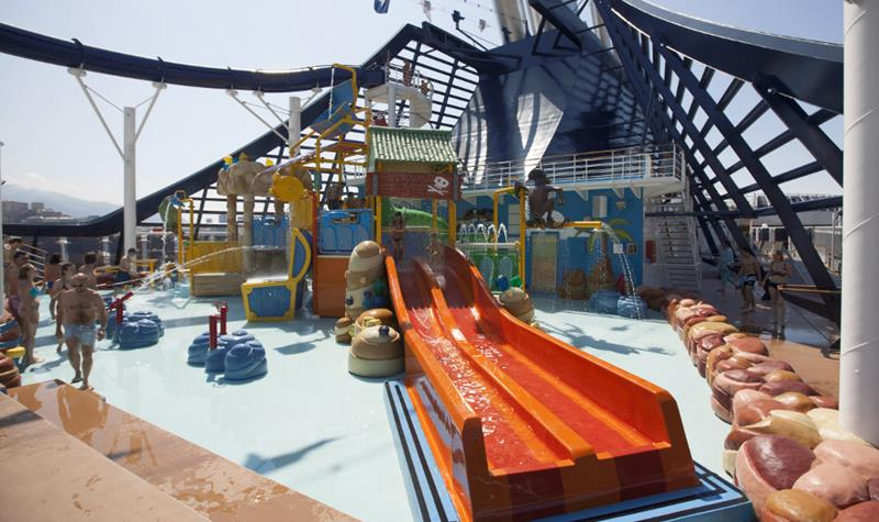 The 6 Best Cruise Ship Water Parks-3b