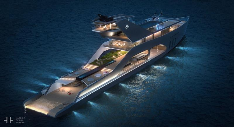 An Inside Look at a New Superyacht with an Onboard Beach-1
