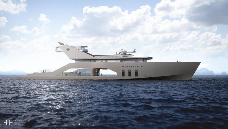 An Inside Look at a New Superyacht with an Onboard Beach-2