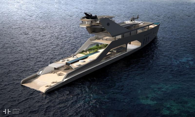 An Inside Look at a New Superyacht with an Onboard Beach-4
