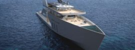 8 Pictures of a New Superyacht with an Onboard Beach