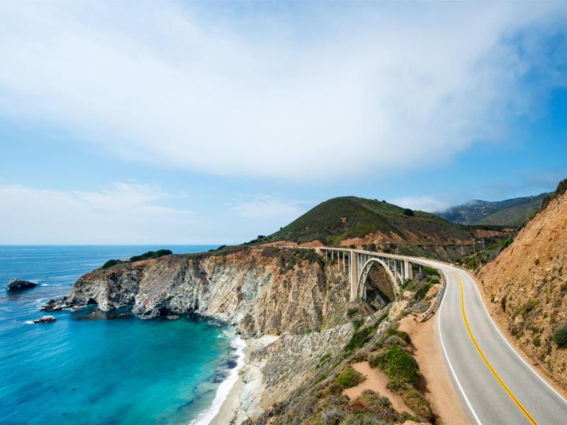 The Pacific Coast Highway California
